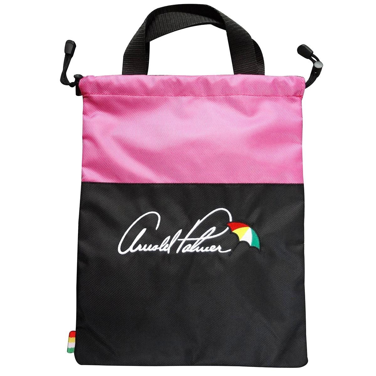 アーノルドパーマー Arnold Palmer シューズケース ブラック/ピンク