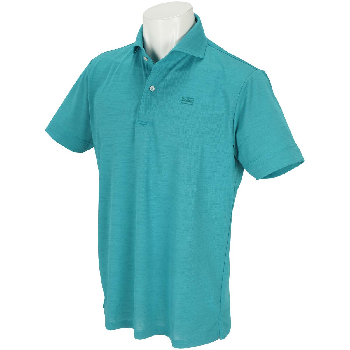 リランチェ鹿の子半袖ポロシャツ