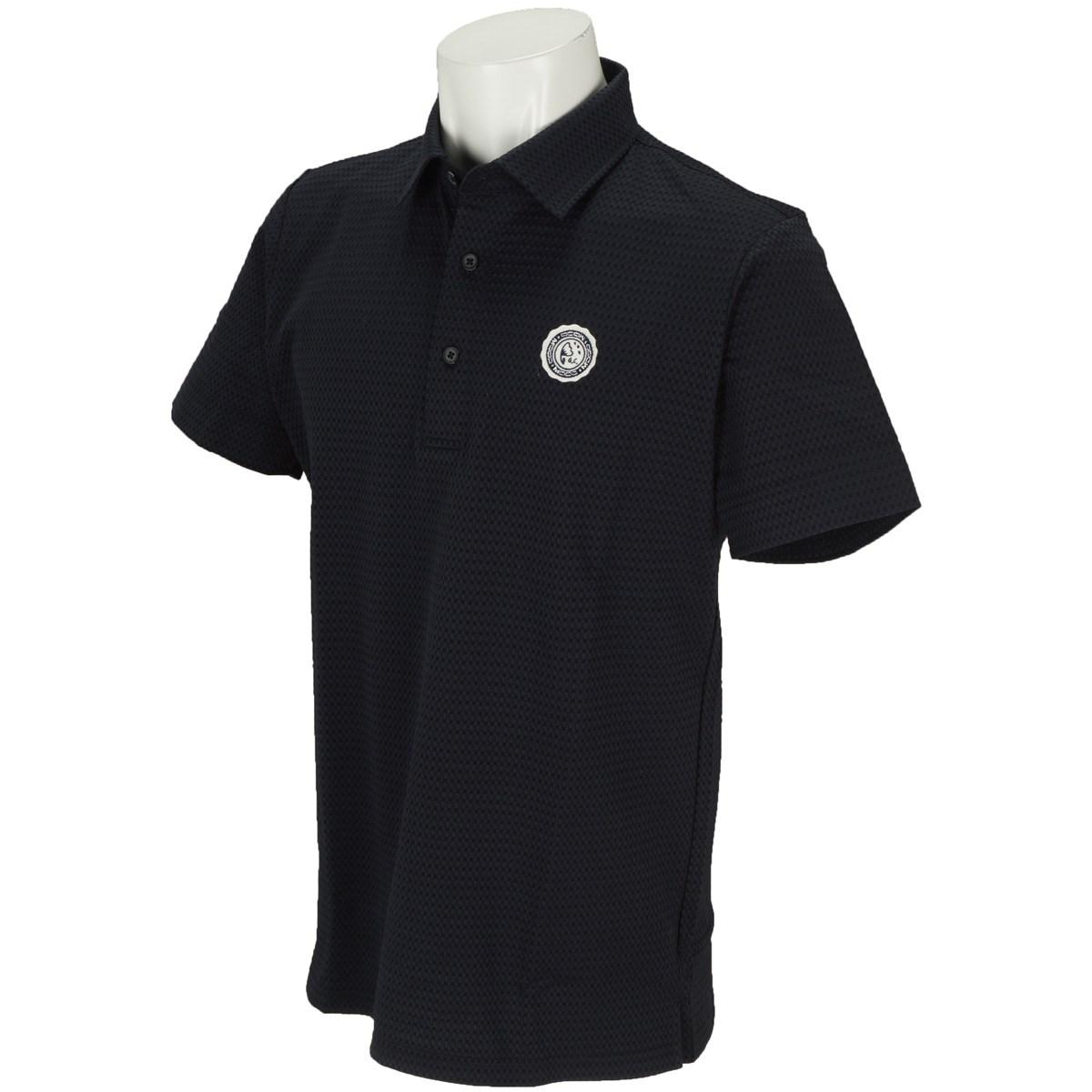モコ MOCO サッカー半袖ポロシャツ M ネイビー