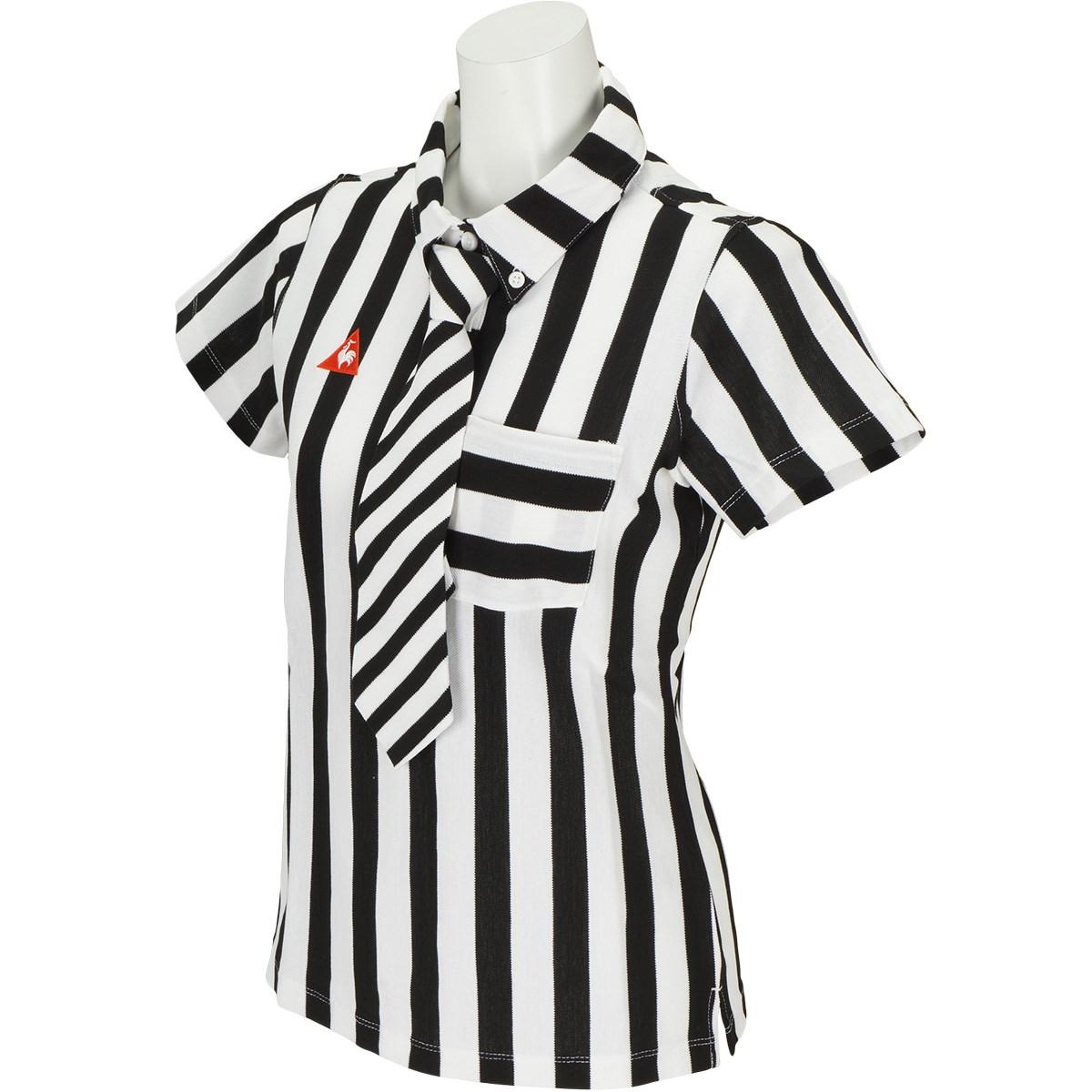 ルコックゴルフ Le coq sportif GOLF 半袖ポロシャツ S ブラック 00 レディス