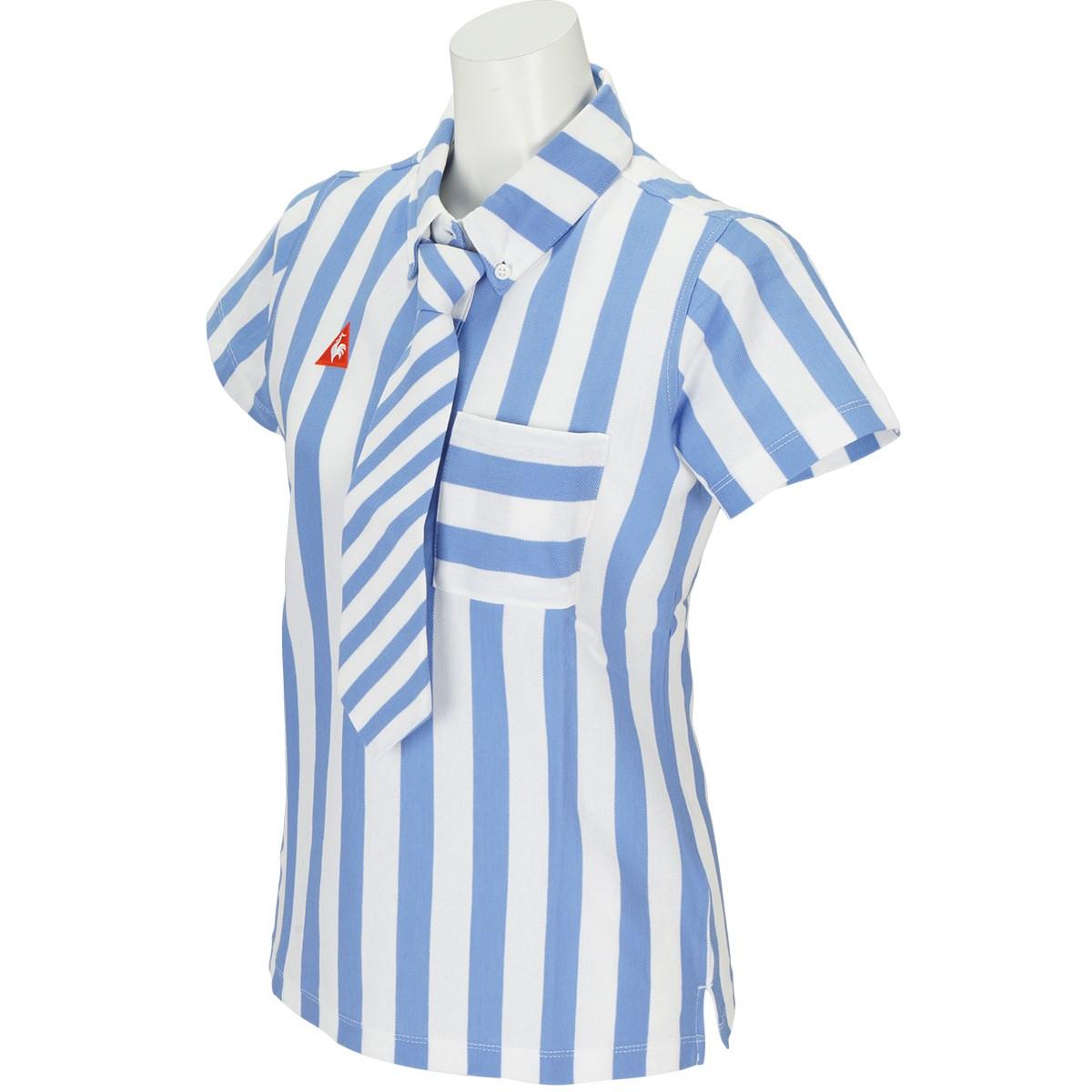 ルコックゴルフ Le coq sportif GOLF 半袖ポロシャツ M ブルー 00 レディス