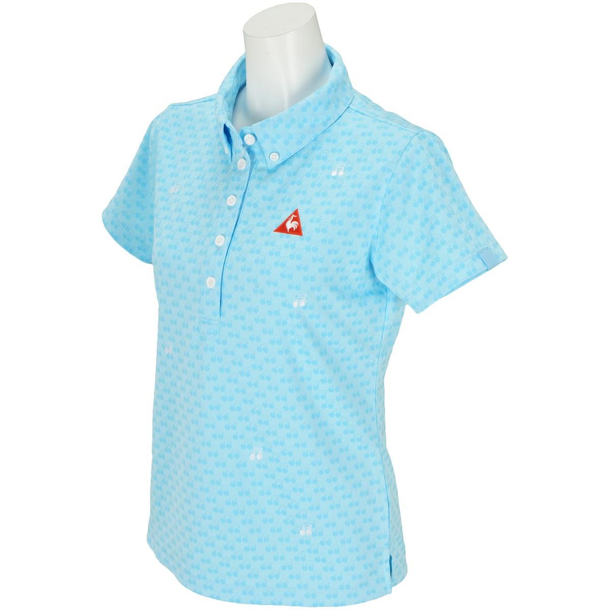 ルコックゴルフ Le coq sportif GOLF 半袖ポロシャツ S ブルー 00 レディス