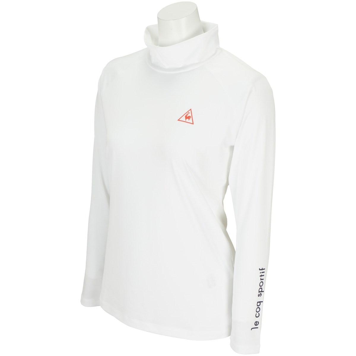 ルコックゴルフ Le coq sportif GOLF ストレッチハイネック長袖インナーシャツ S ホワイト 00 レディス