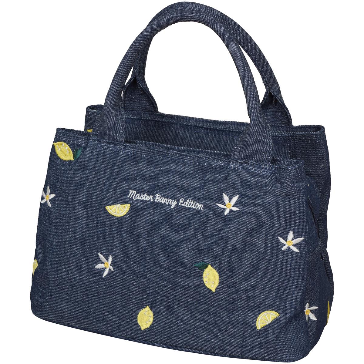 レモン刺繍三層カートバッグ