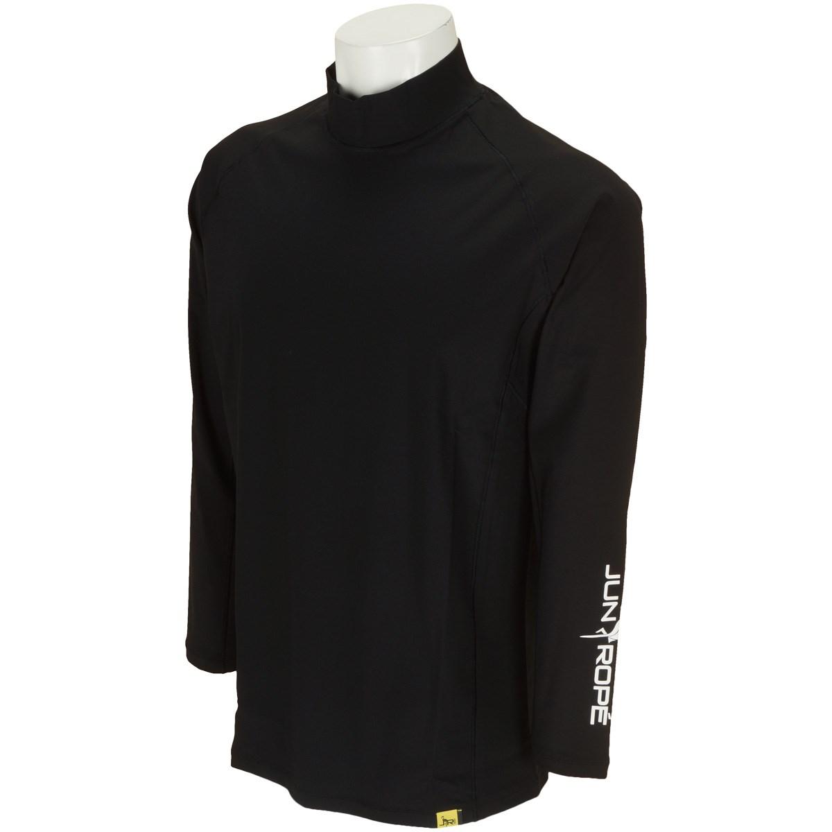 ジュン アンド ロペ JUN & ROPE ソフトコンプレッション長袖シャツ XL ブラック 01