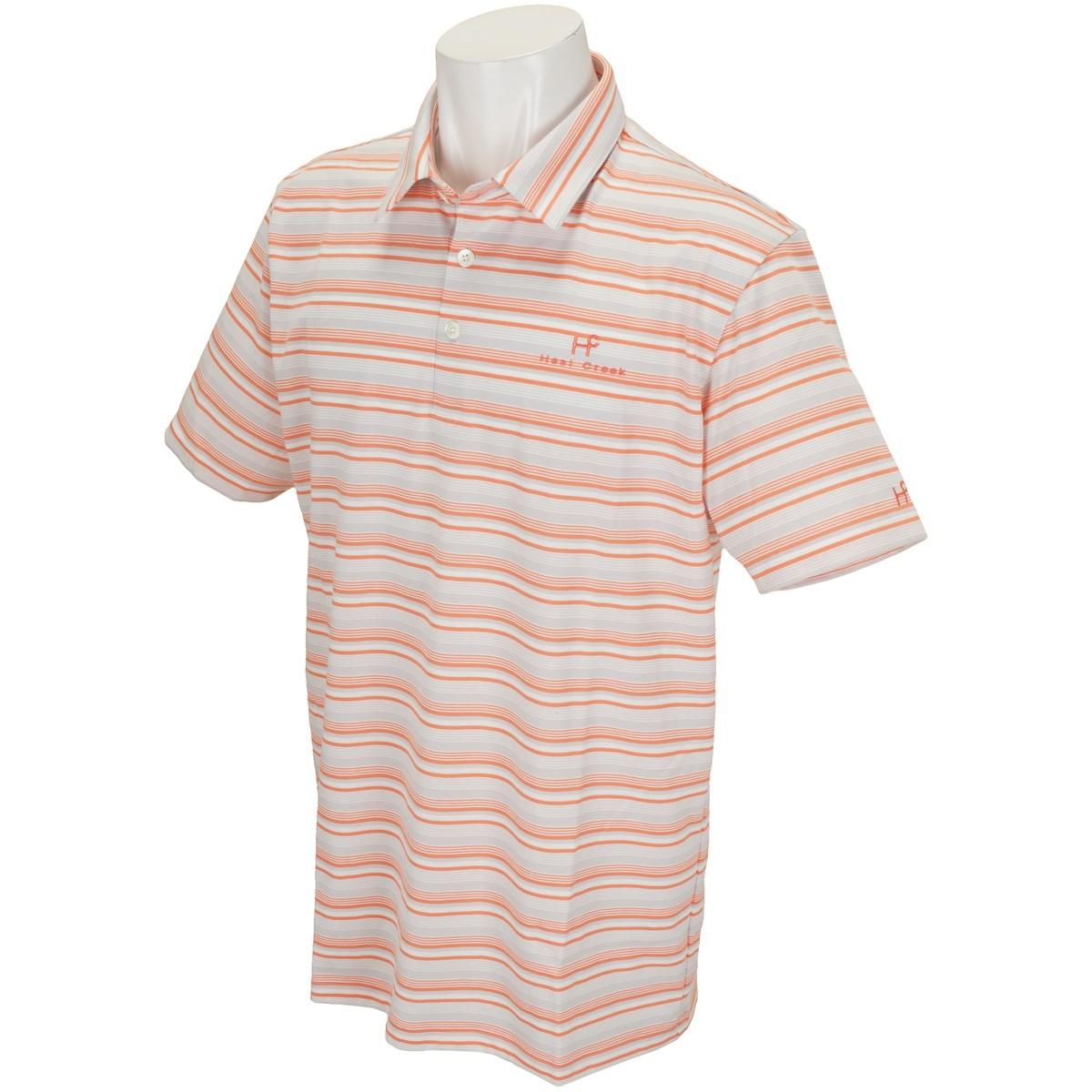 ヒールクリーク 半袖ポロシャツ