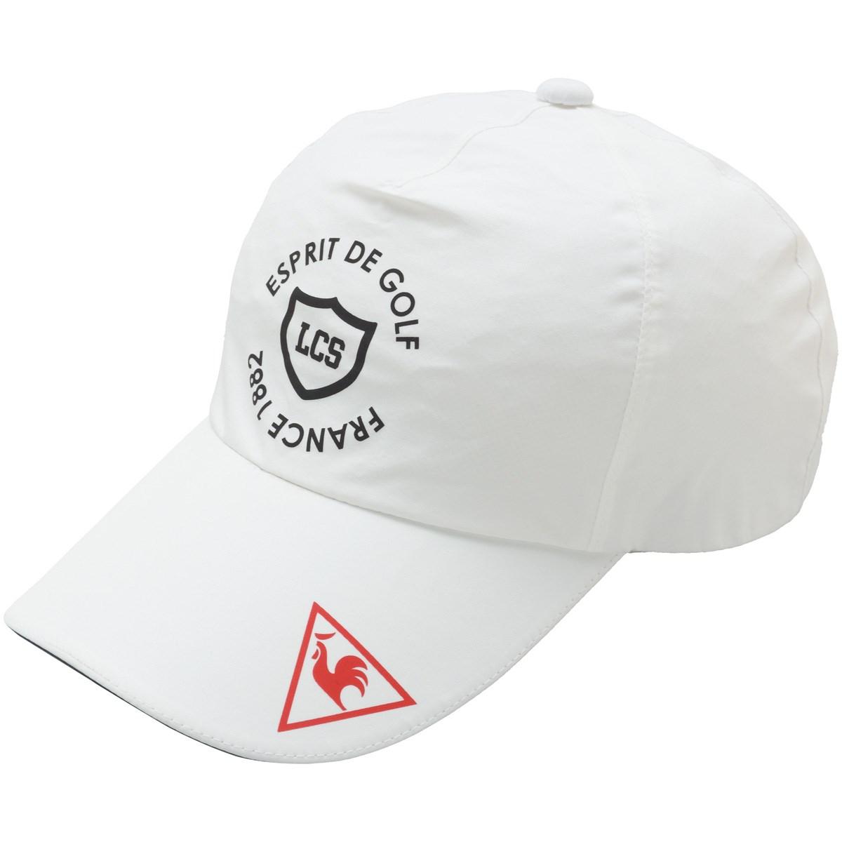 ルコックゴルフ Le coq sportif GOLF レインキャップ フリー ホワイト 00 レディス