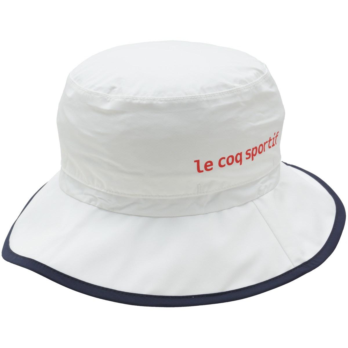 ルコックゴルフ Le coq sportif GOLF レインハット フリー ホワイト 00 レディス