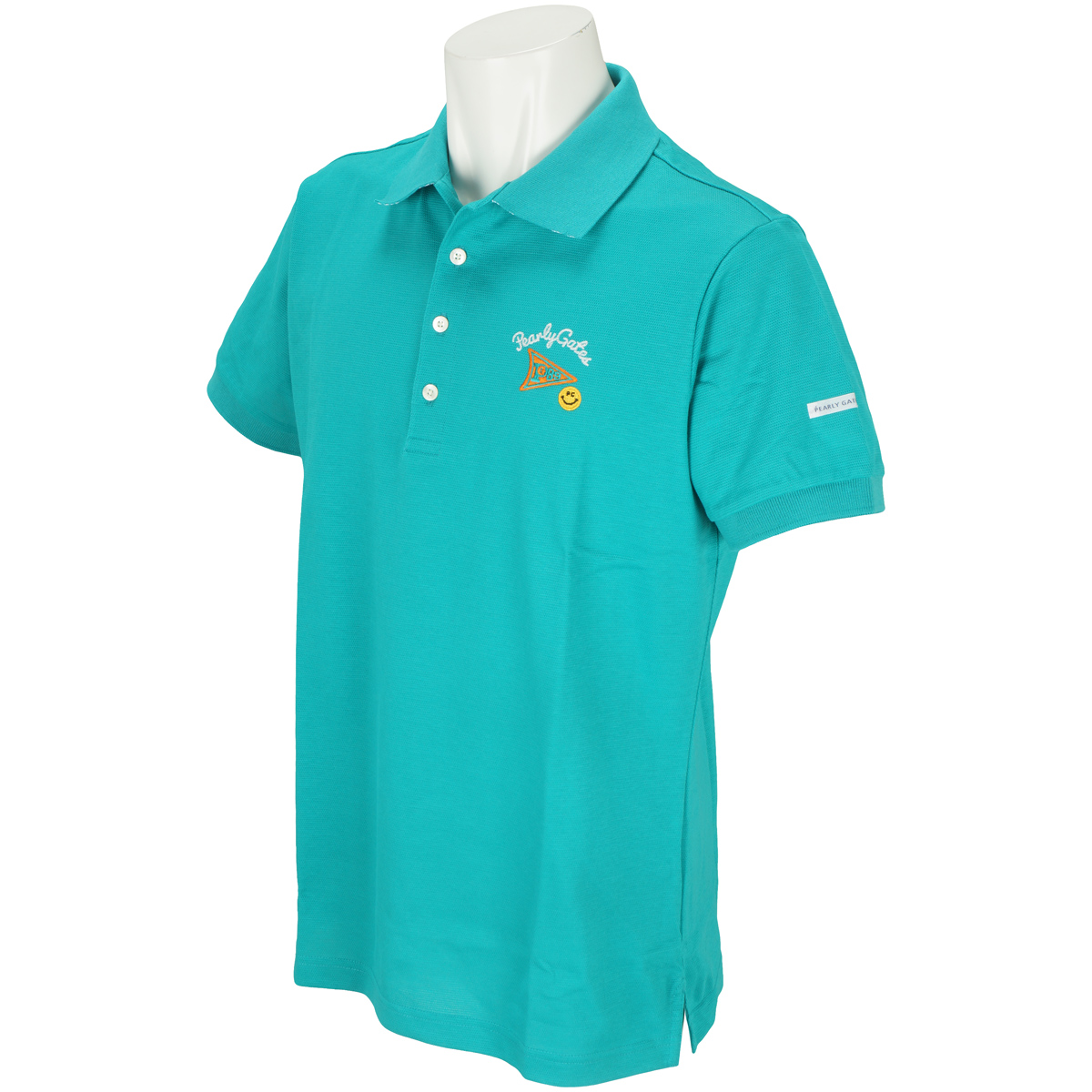 ペンタス鹿の子 半袖ポロシャツ