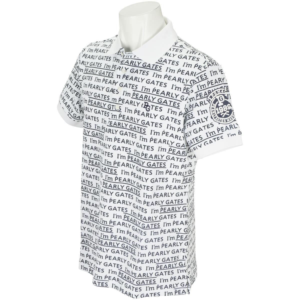 鹿の子Wフェイス 半袖ポロシャツ