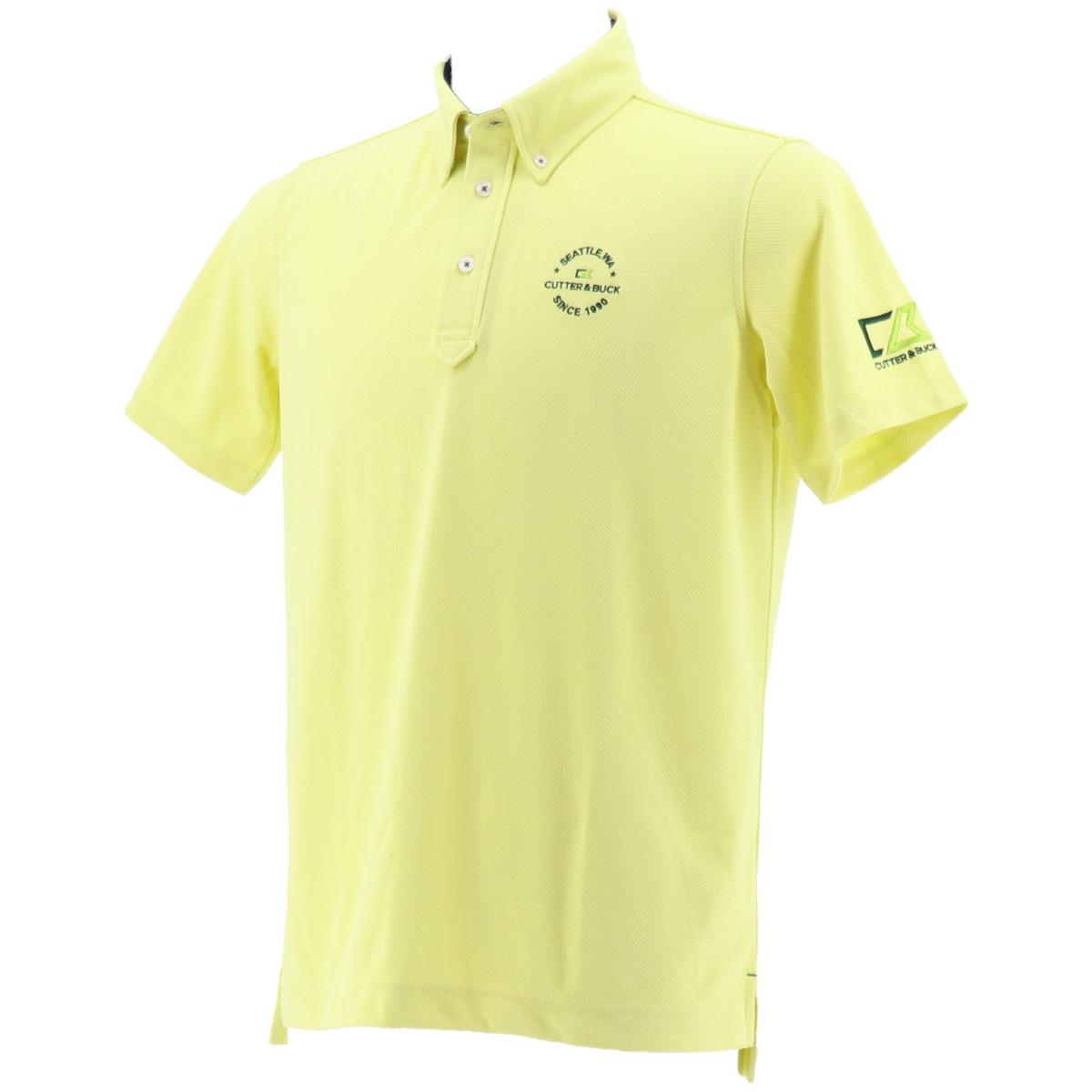 ロゴ半袖ポロシャツ