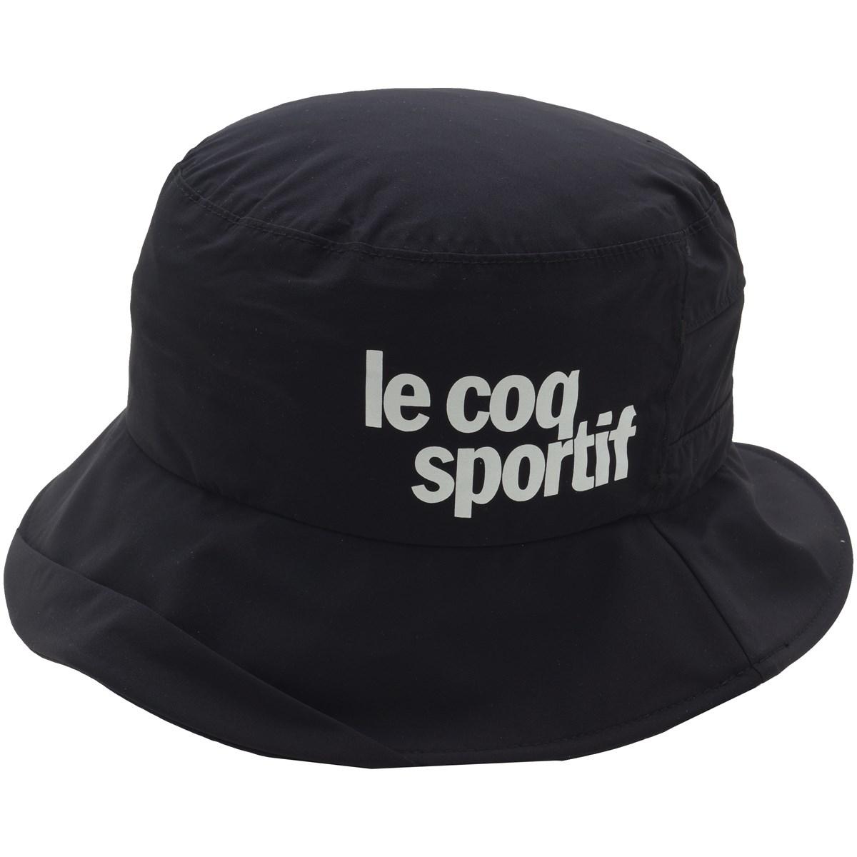 [2019年モデル] ルコックゴルフ Le coq sportif GOLF レインハット ブラック 00 メンズ ゴルフウェア