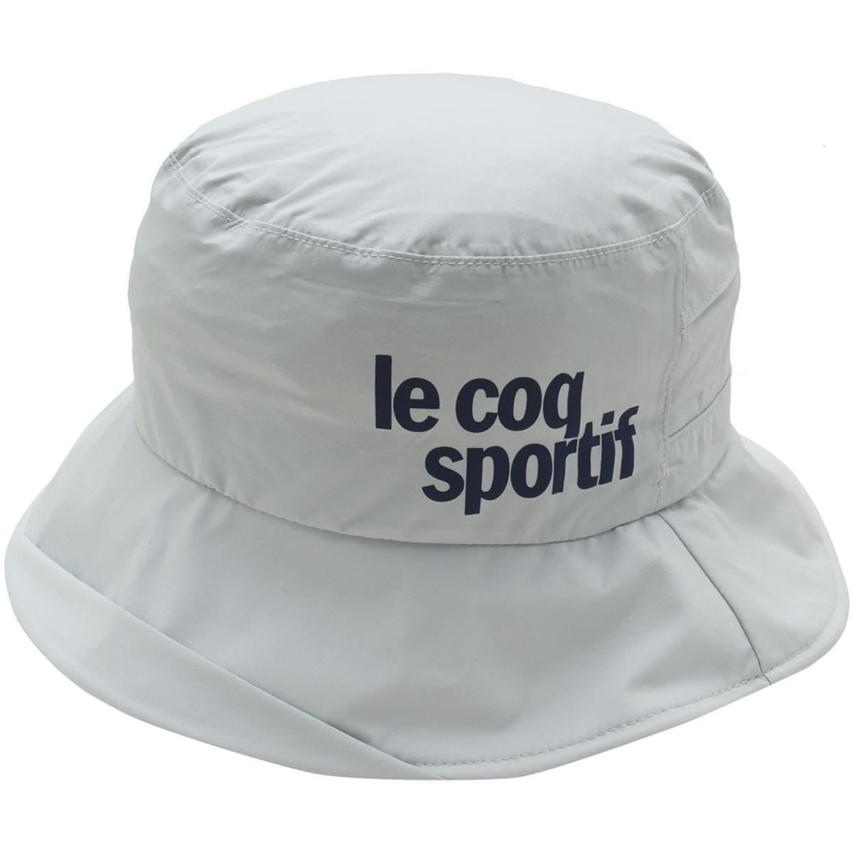 ルコックゴルフ Le coq sportif GOLF レインハット フリー グレー 00