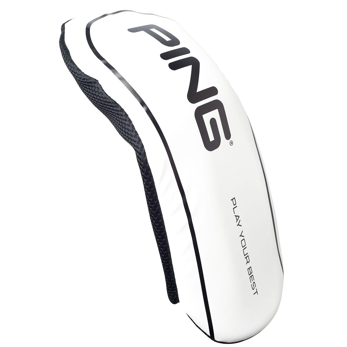 [2019年モデル] ピン PING ヘッドカバー DR用 ホワイト メンズ ゴルフ