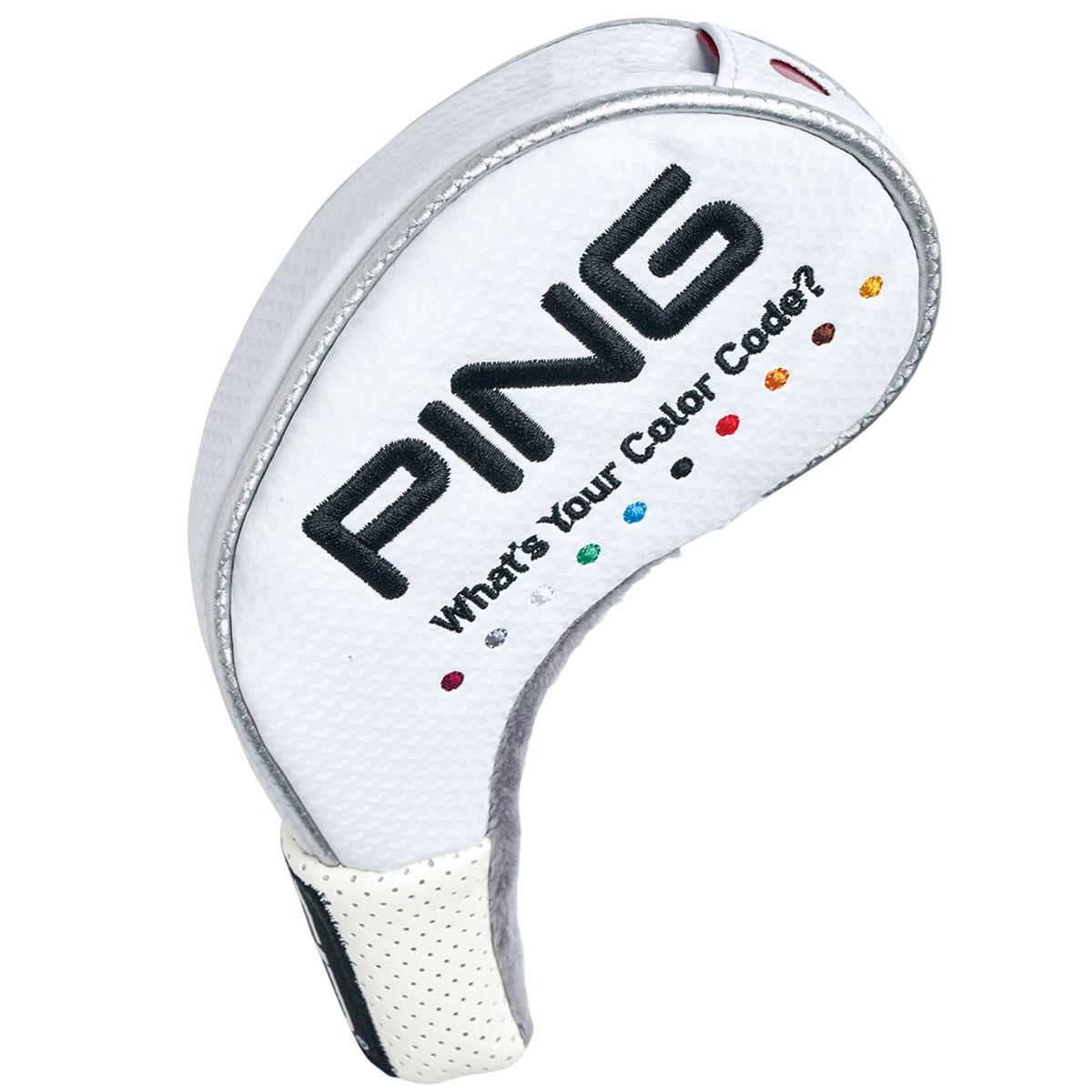 ピン PING カラーコード アイアンカバー8個セット ホワイト