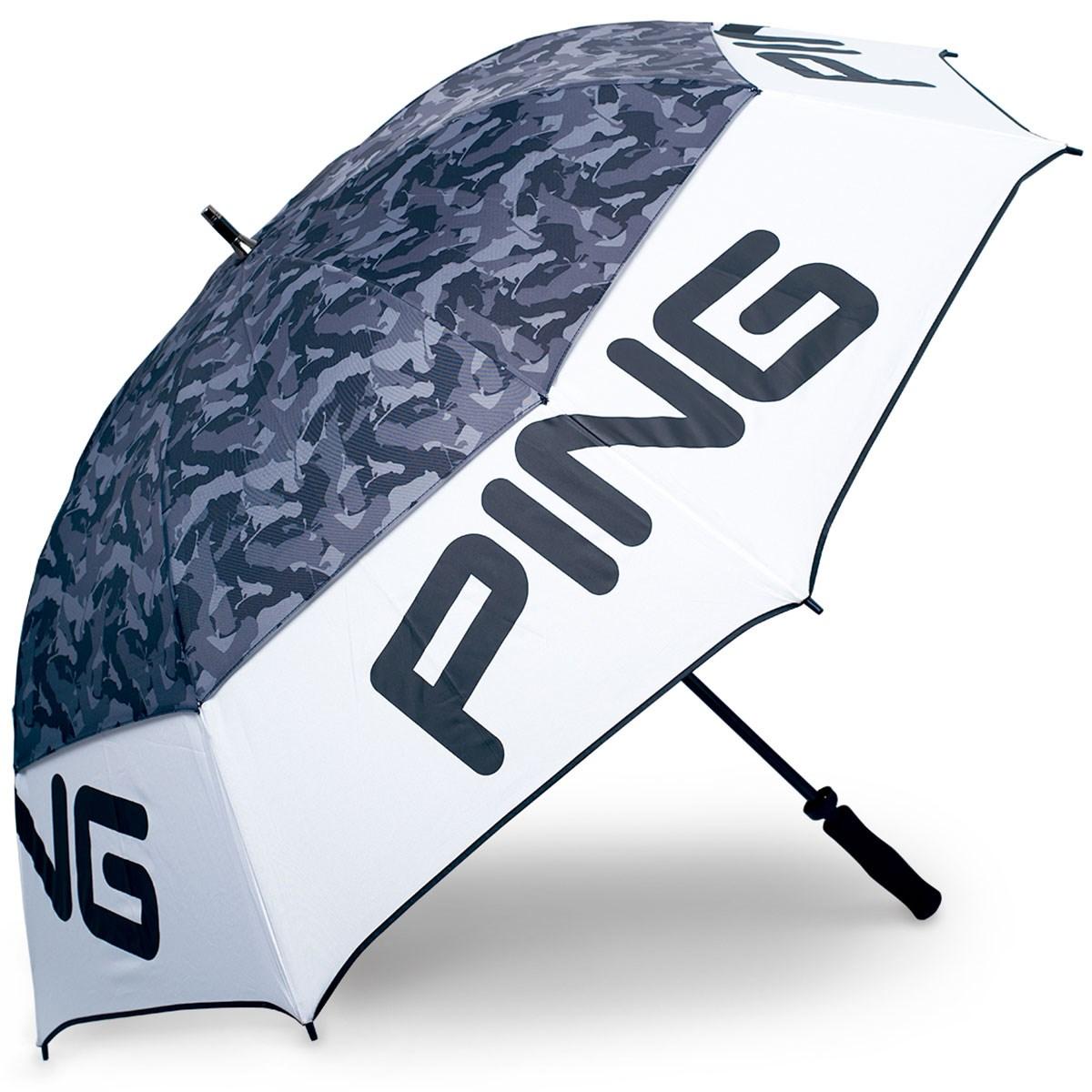 ピン PING 傘 ホワイト/ブラック
