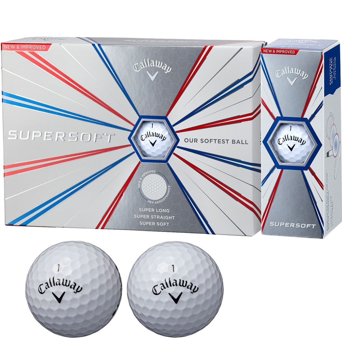 キャロウェイゴルフ(Callaway Golf) SUPERSOFT 19 ボール