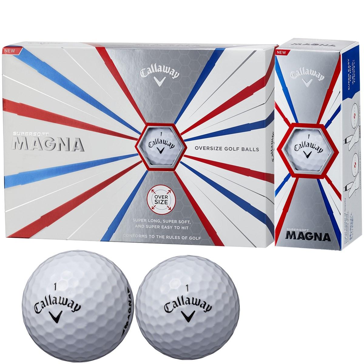 キャロウェイゴルフ(Callaway Golf) SUPERSOFT MAGNA ボール