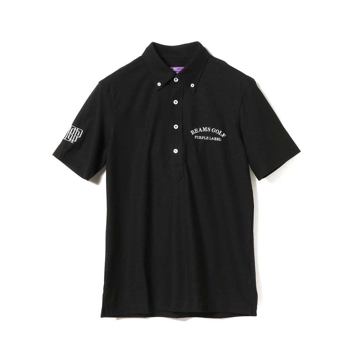 BEAMS GOLF PURPLE LABEL BGP ボタンダウン 半袖ポロシャツ