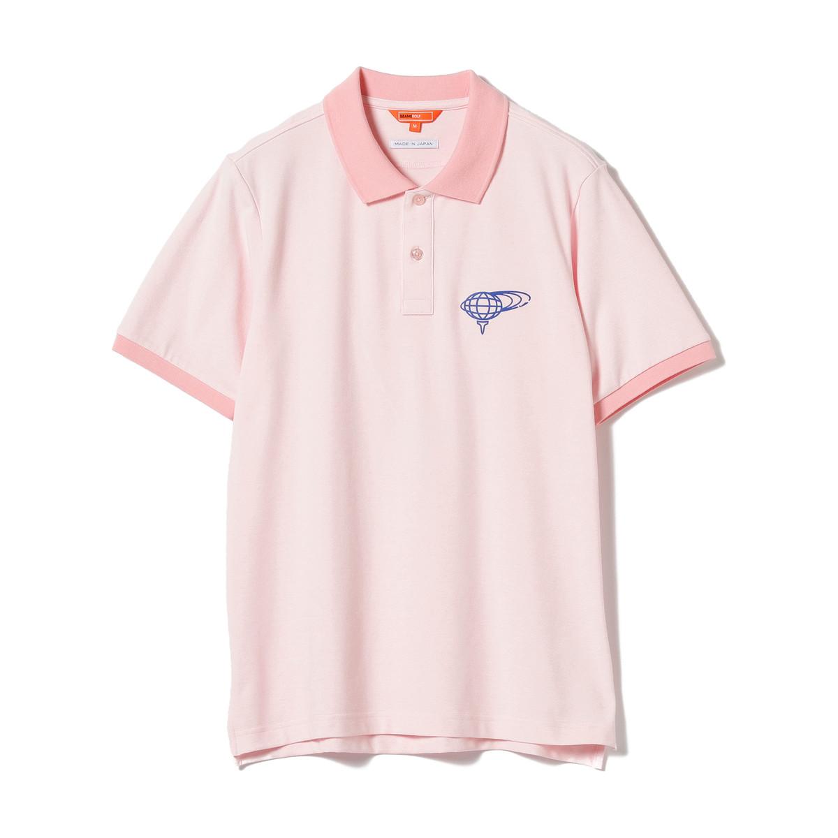 BEAMS GOLF ORANGE LABEL カラー 半袖ポロシャツ