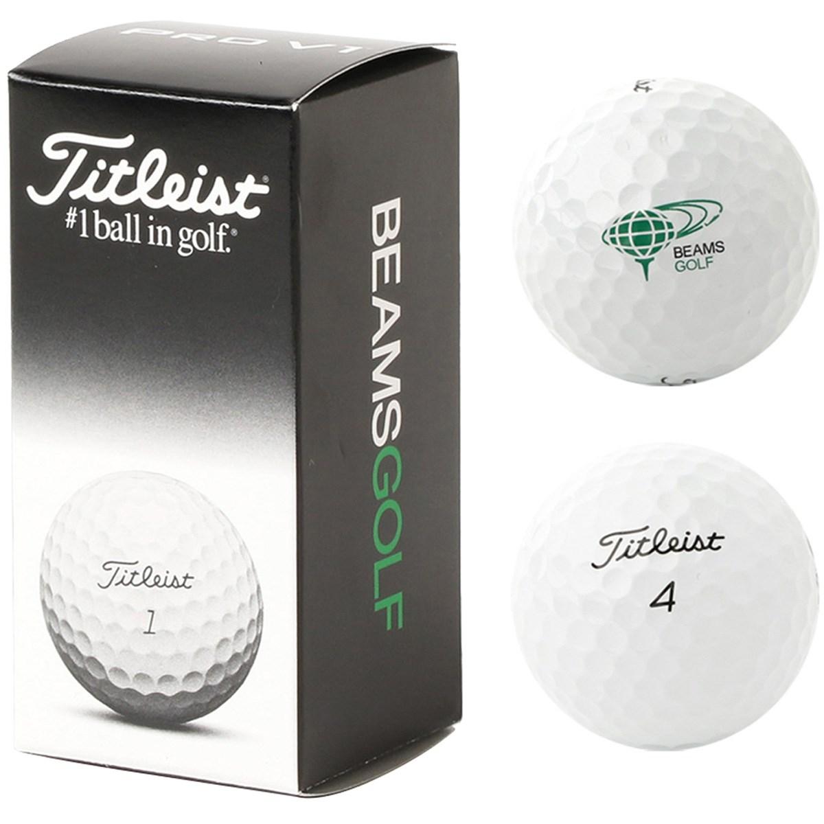 ビームスゴルフ Titleist×BEAMS GOLF 別注 PRO V1 ゴルフボール