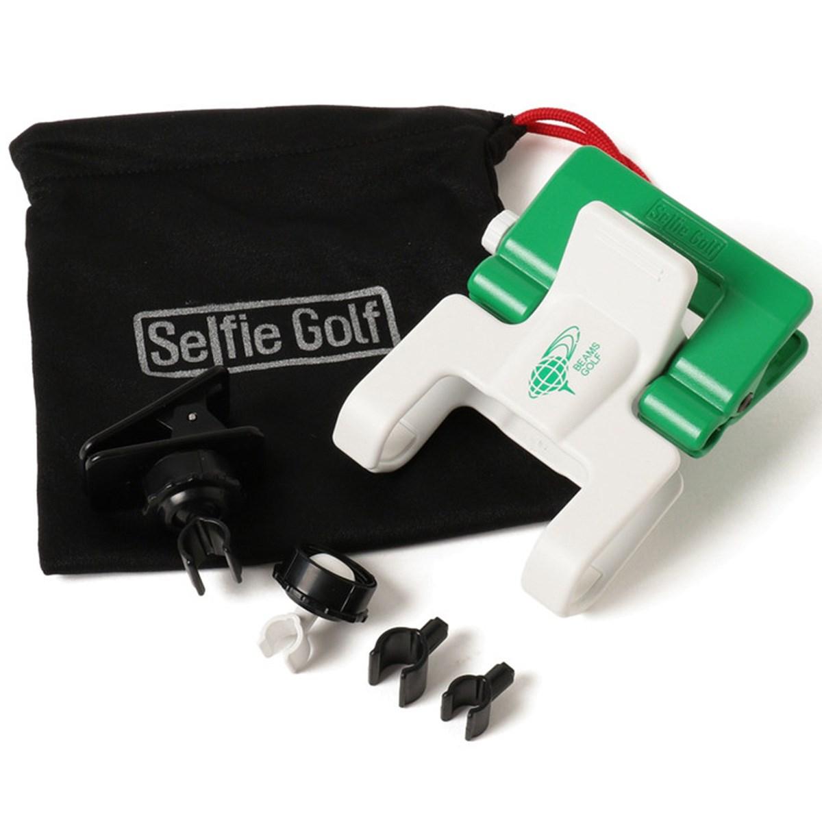 ビームスゴルフ SELFIE GOLF×BEAMS GOLF 別注 スウィングチェック セルフィークリップ
