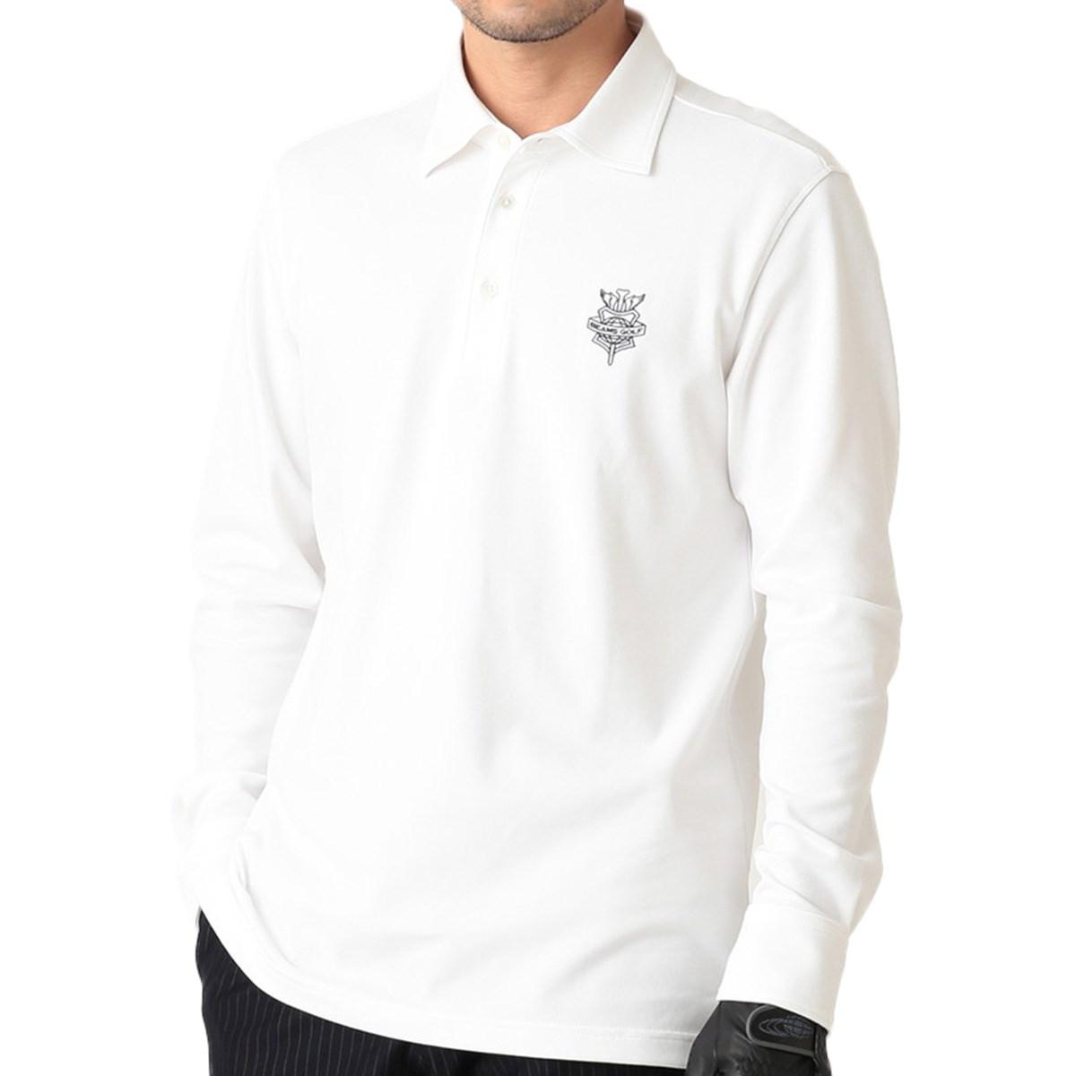 ビームスゴルフ BEAMS GOLF PURPLE LABEL 長袖鹿の子ポロシャツ