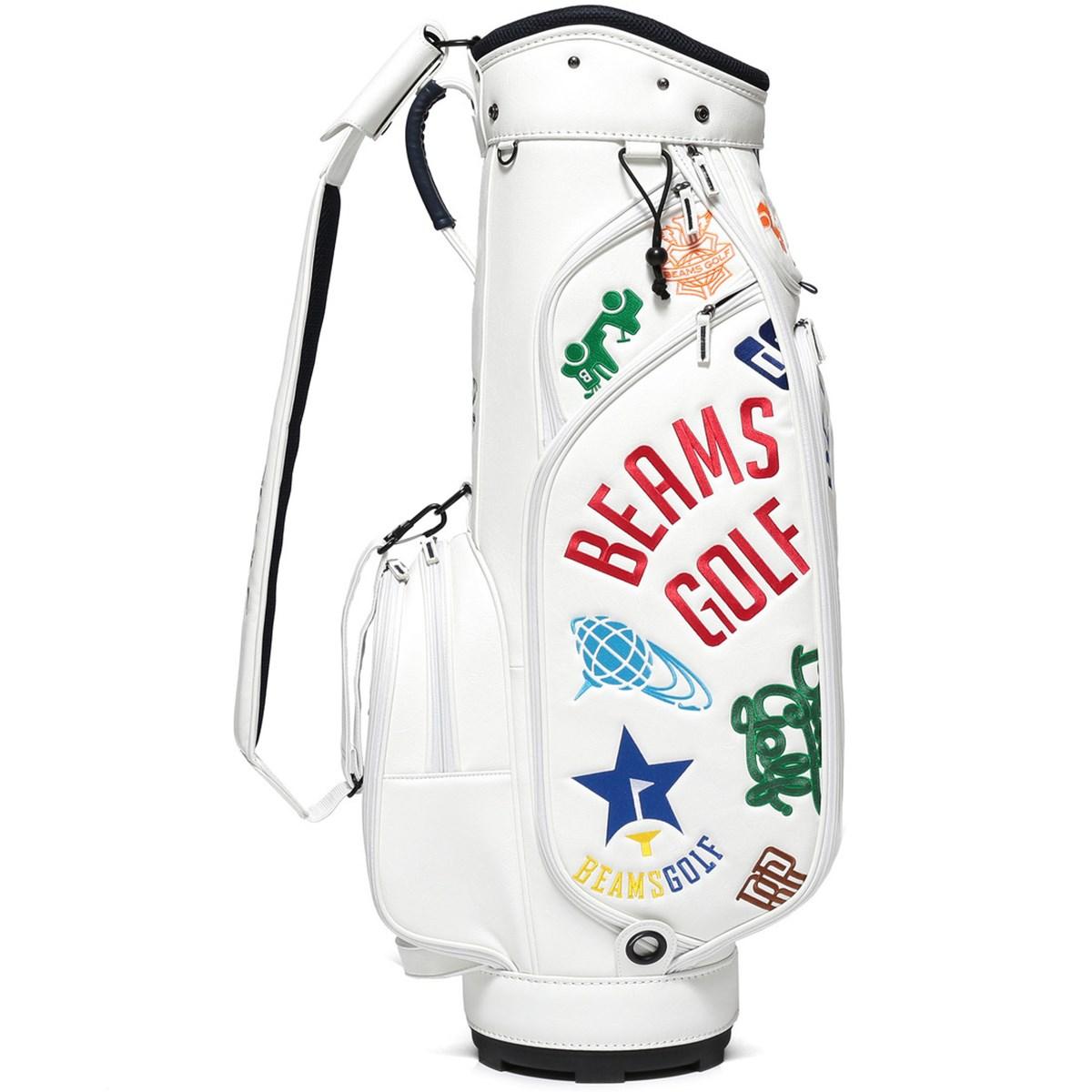 ビームスゴルフ BEAMS GOLF various ロゴ キャディバッグ