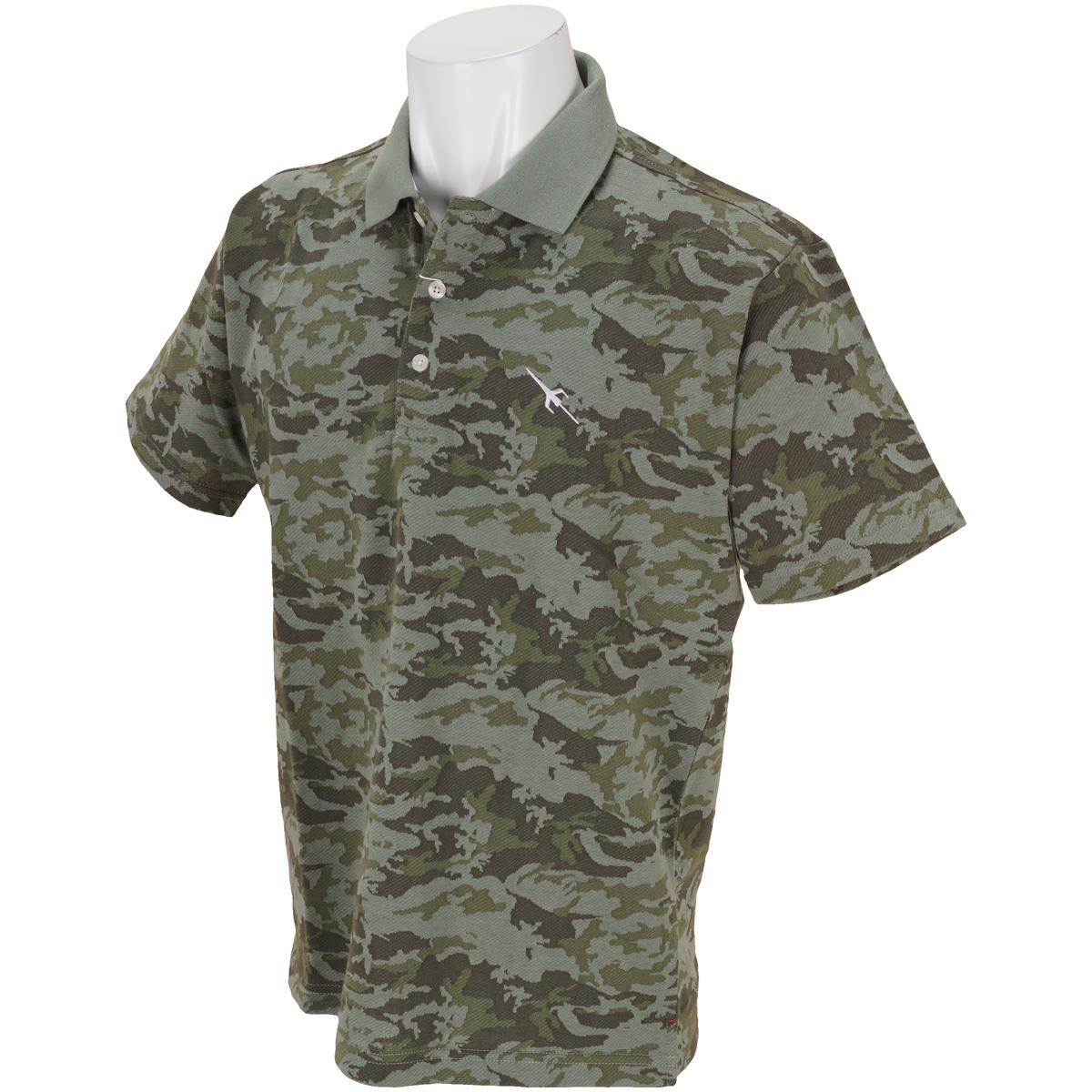 GDO限定 迷彩柄半袖ポロシャツ