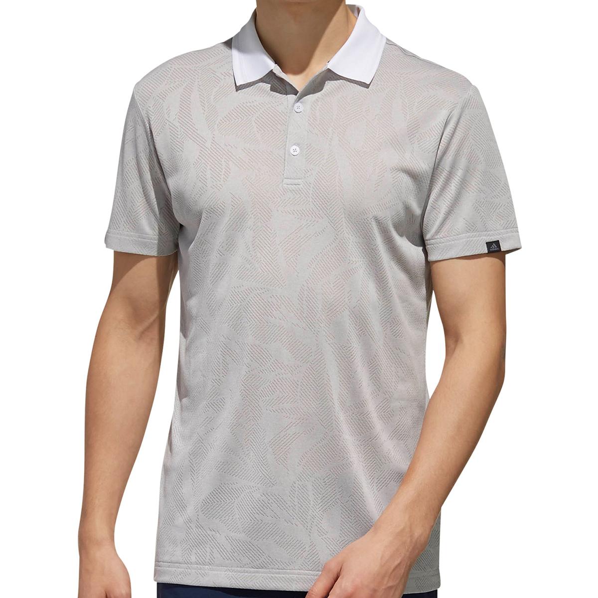 ADICROSS ボタニカル半袖ポロシャツ