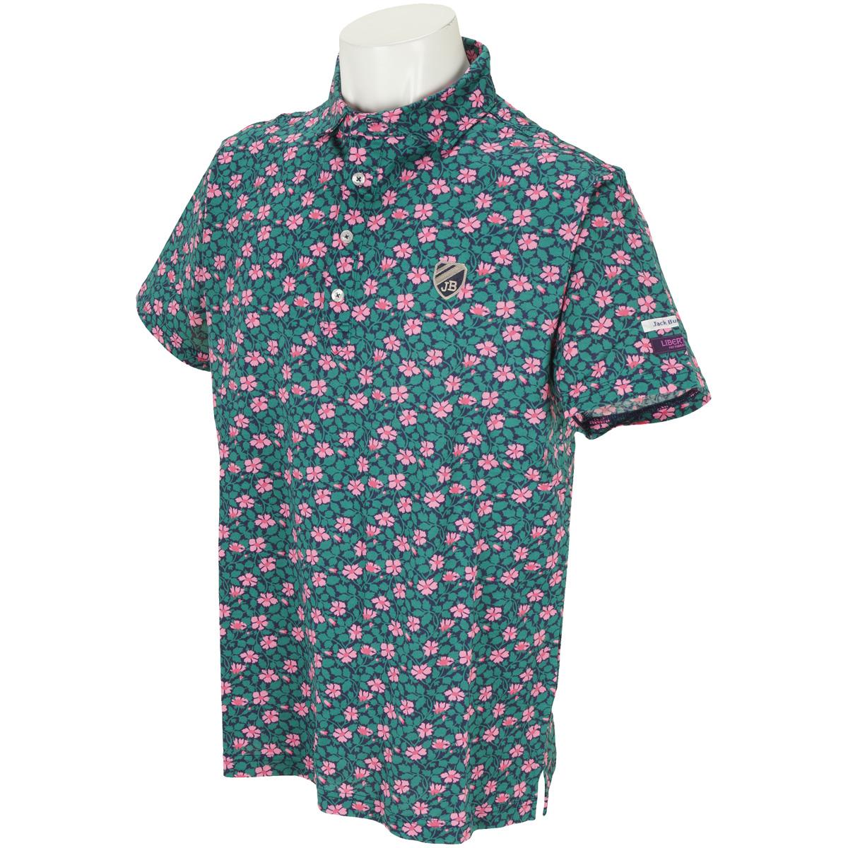 鹿の子 LIBERTY 半袖ポロシャツ