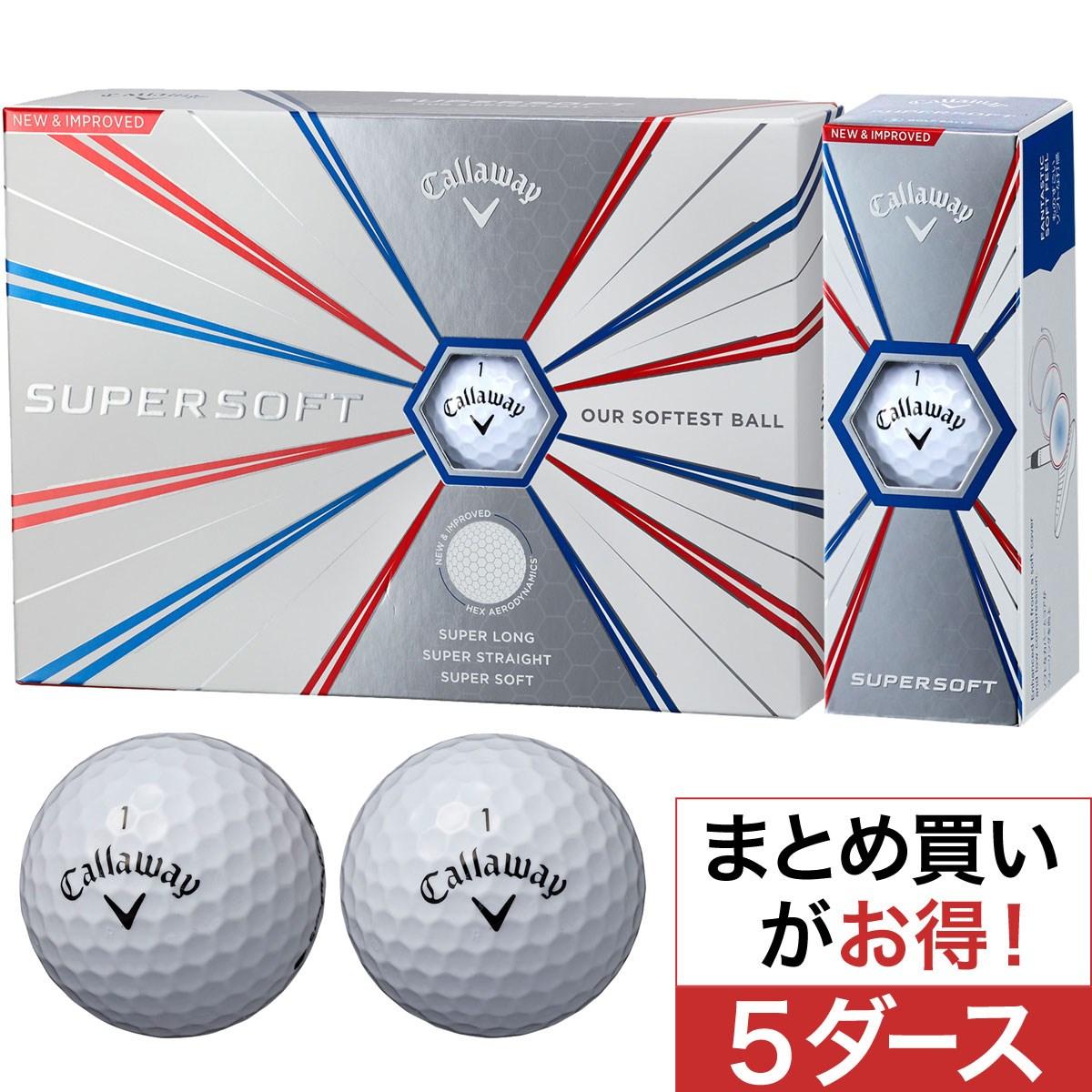 キャロウェイゴルフ(Callaway Golf) SUPERSOFT 19 ボール 5ダースセット