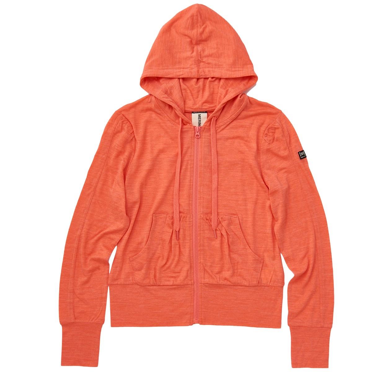 スーパーナチュラル [sn]super.natural Hooded Cover Up パーカー M ピーチ G63 レディス