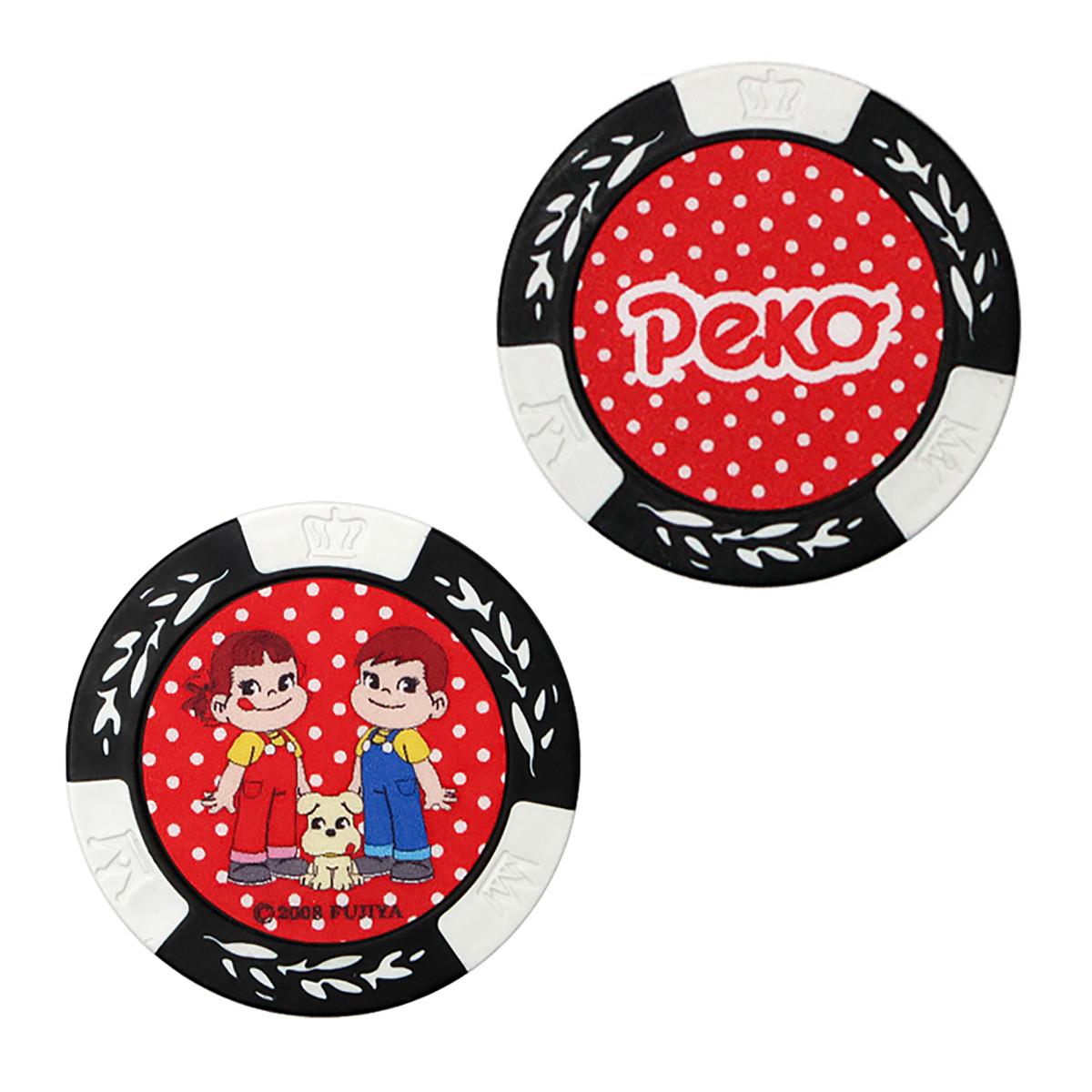 ホクシン交易 ペコちゃん&ポコちゃん カジノチップマーカー