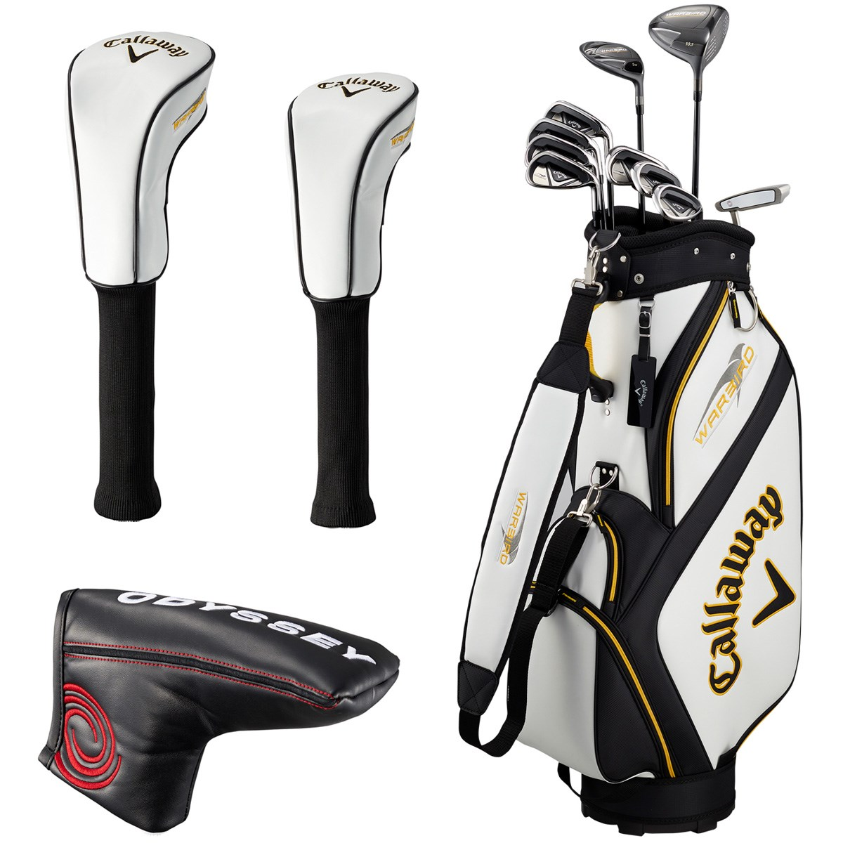 キャロウェイゴルフ(Callaway Golf) ウォーバード クラブセット(10本セット) カーボン