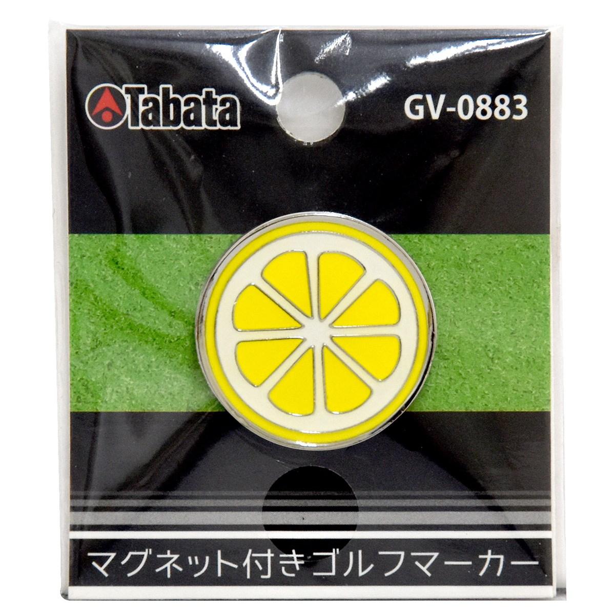 タバタ Tabata マグネット付きマーカー レモン
