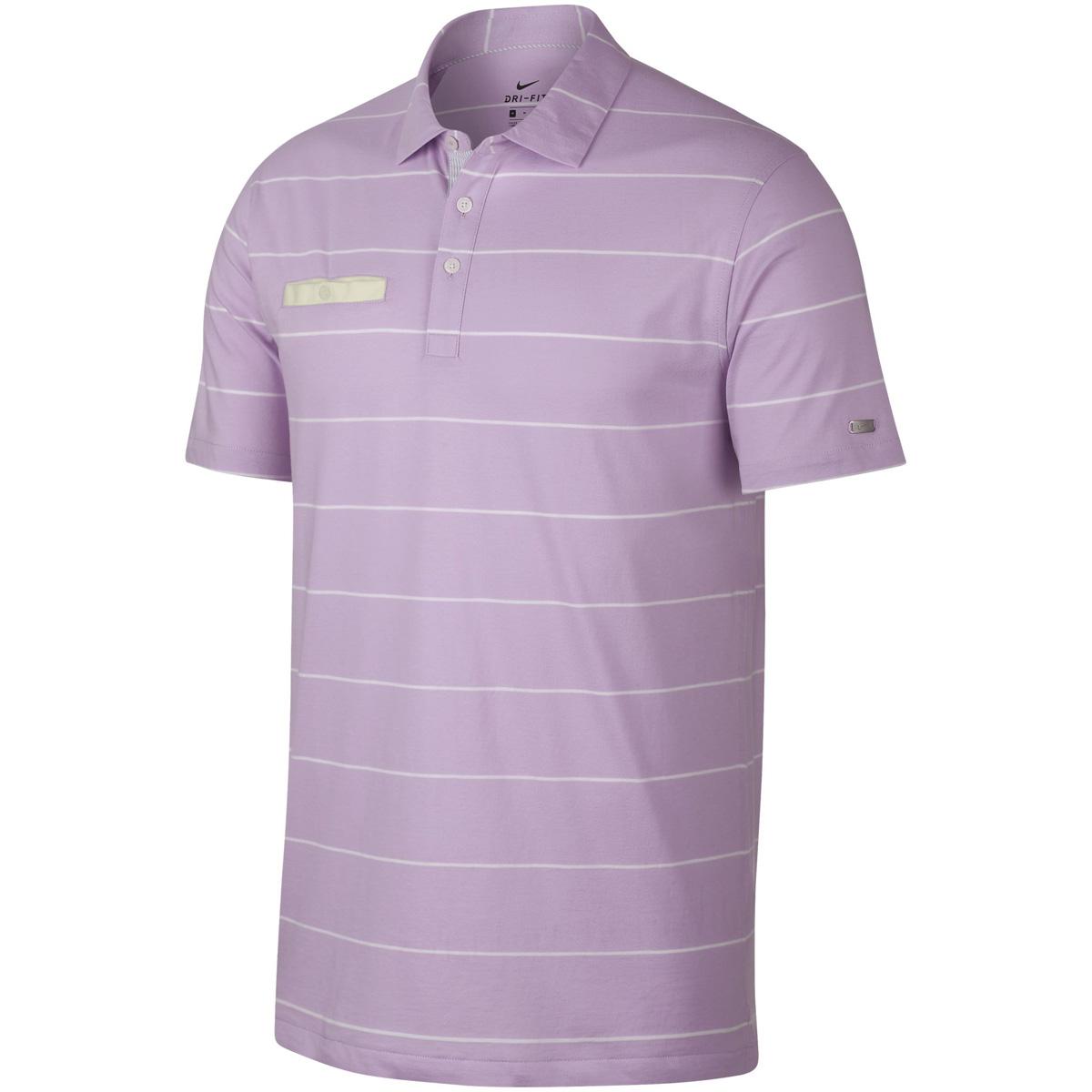 DRI-FIT レガシー ストライプ 半袖ポロシャツ