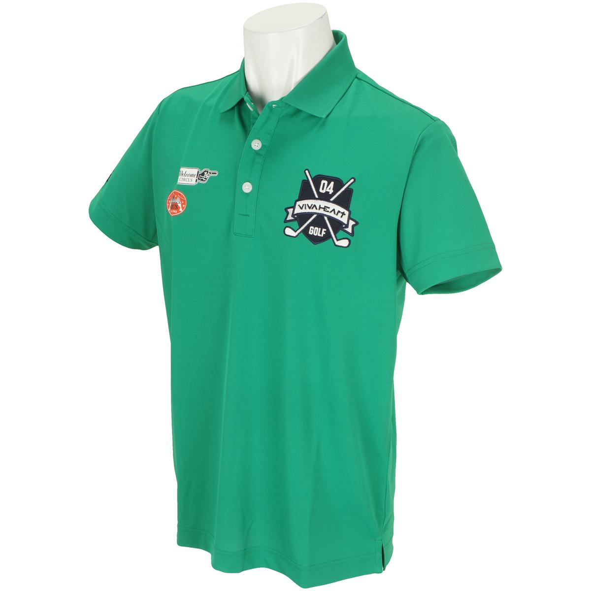鹿の子マルチロゴ 半袖ポロシャツ