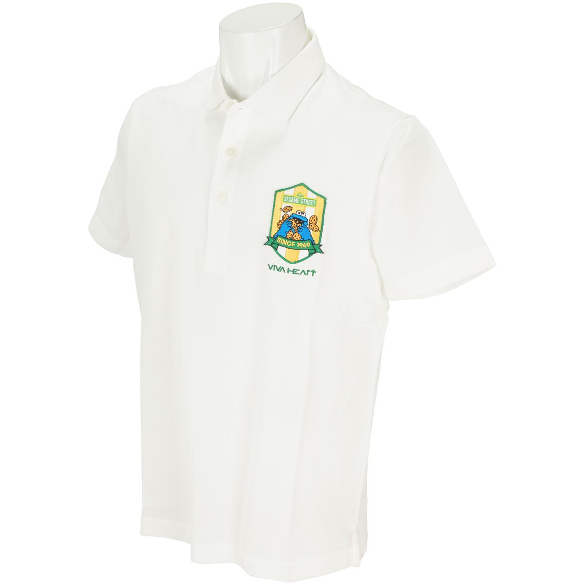 アロフト鹿の子 クッキーモンスター半袖ポロシャツ