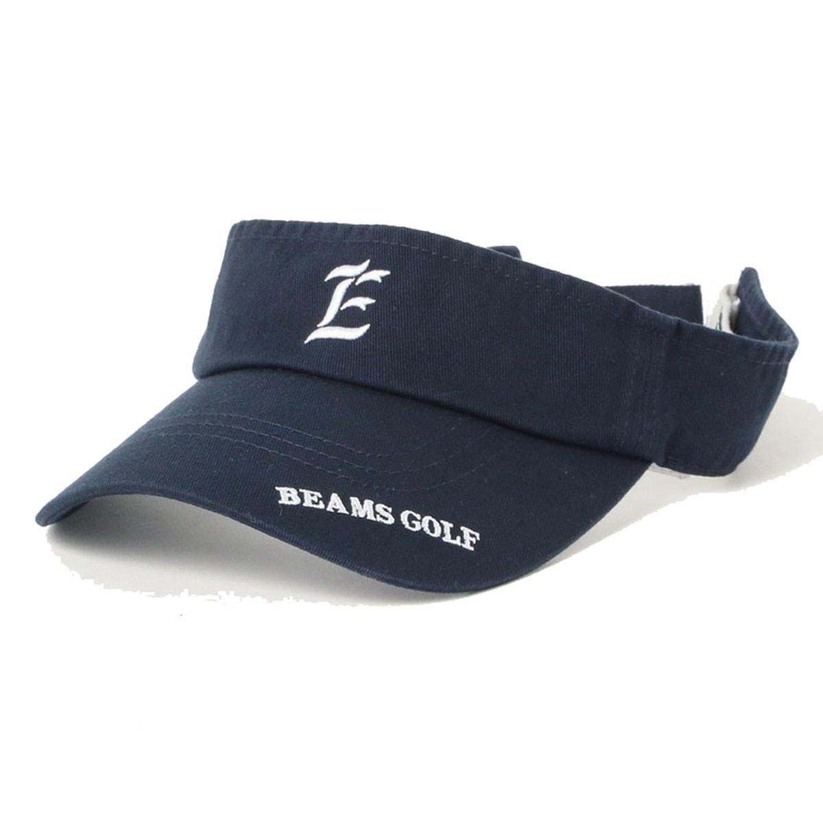 ビームスゴルフ BEAMS GOLF PURPLE LABEL ロゴ サンバイザー 2019SS