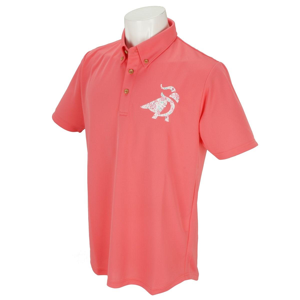 ブリヂストン PARADISO GDO限定 半袖ポロシャツ M ピンク