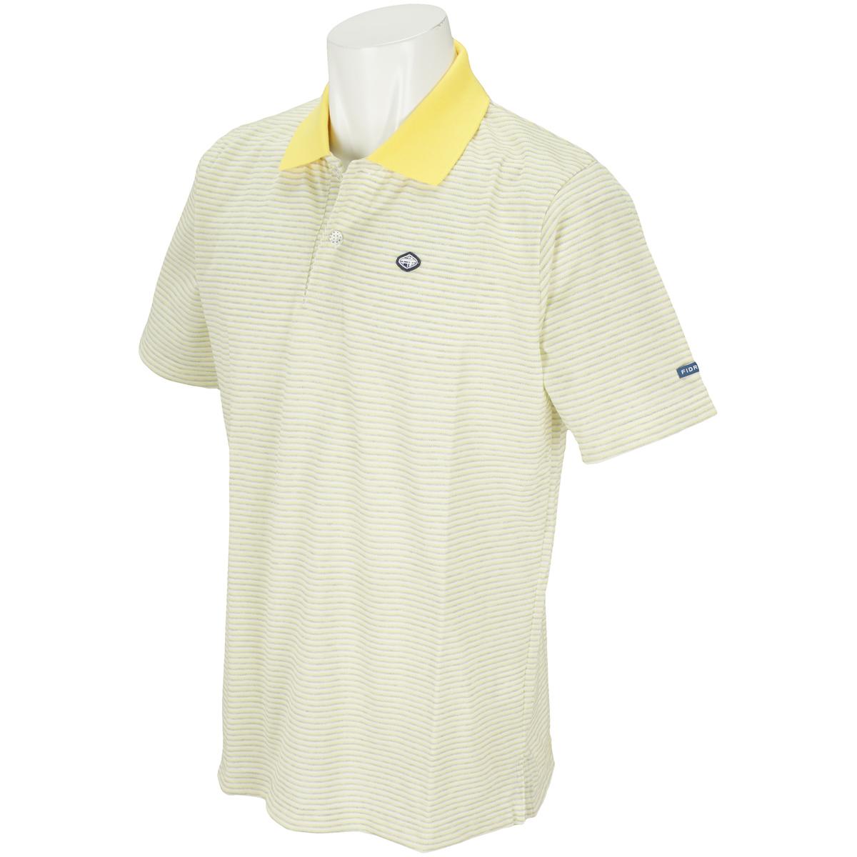 マルチボーダー半袖ポロシャツ