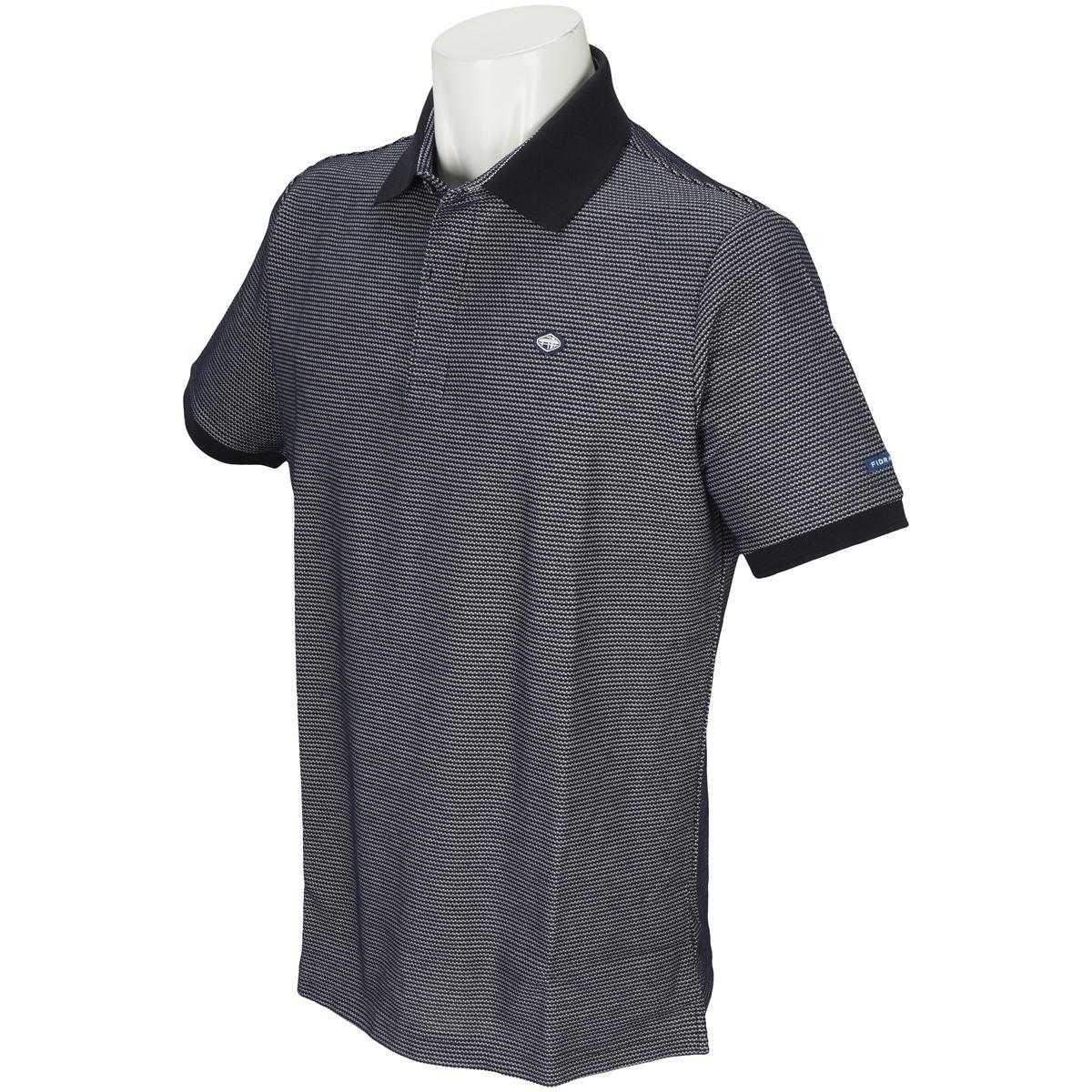 ハニカム半袖ポロシャツ