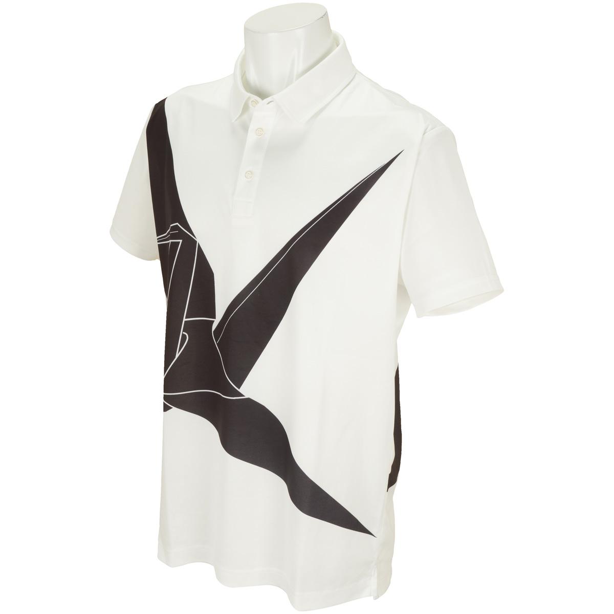 ビッグ鶴 半袖ポロシャツ