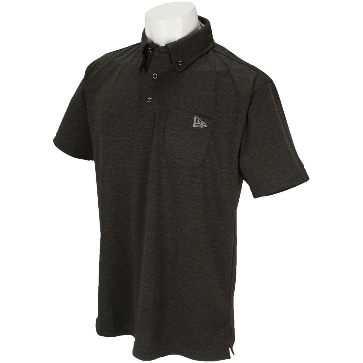 GOLF SC PCKET TEC KNIT 半袖ボタンダウンポロシャツ