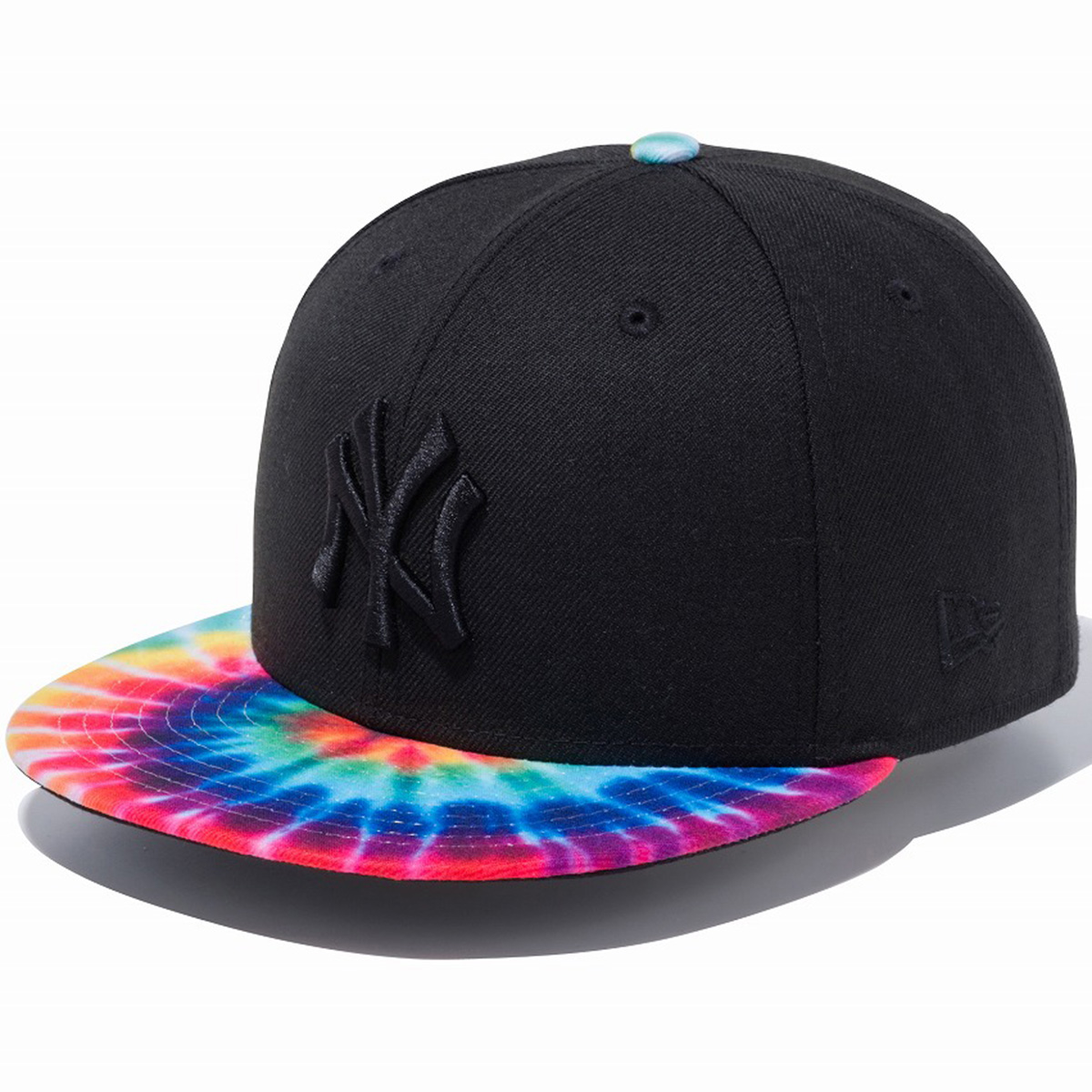 950 NEYYAN COLOR TIEDYE BLK TDPRNT キャップ
