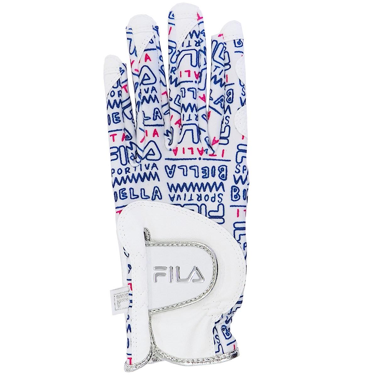 フィラ FILA ネイルカット グローブ 両手用 ML 両手用 ホワイト レディス