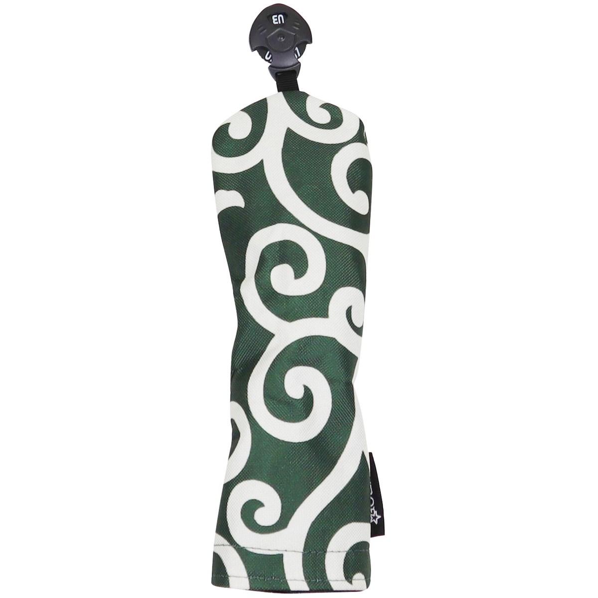 AZROF スタイルヘッドカバー UT用 カラクサグリーン