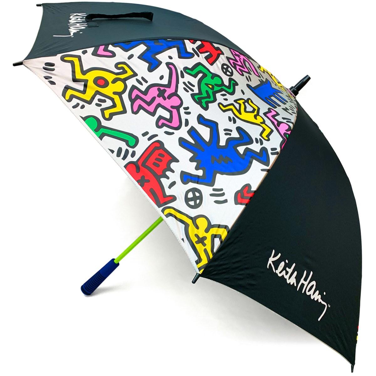 キース・ヘリング Keith Haring 傘 ブラック