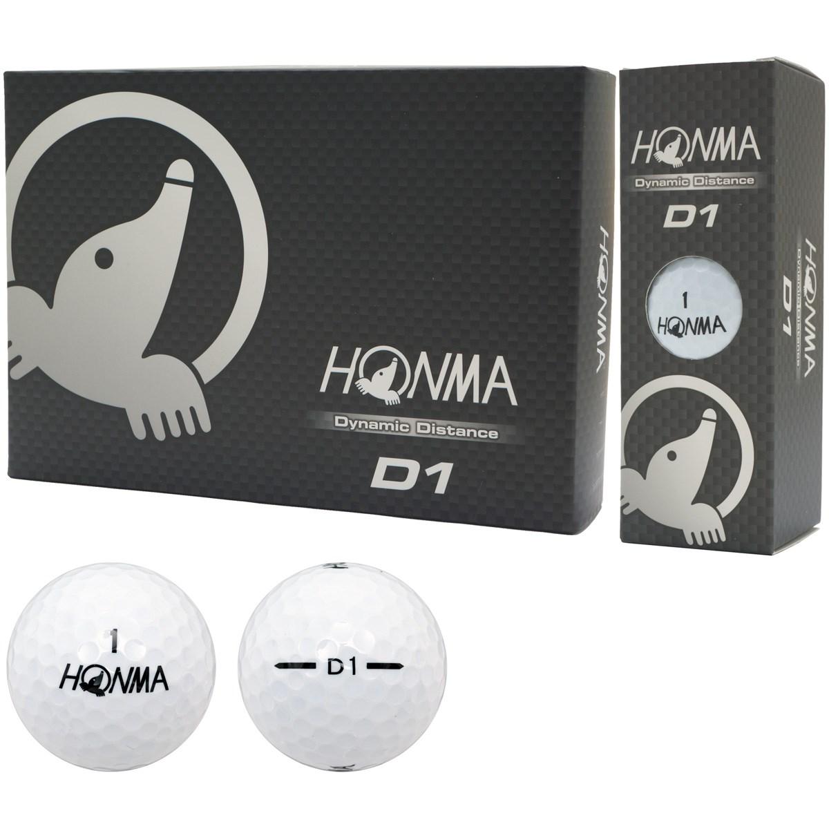 本間ゴルフ(HONMA GOLF) D1 ボール 2016年モデル 3ダースセット